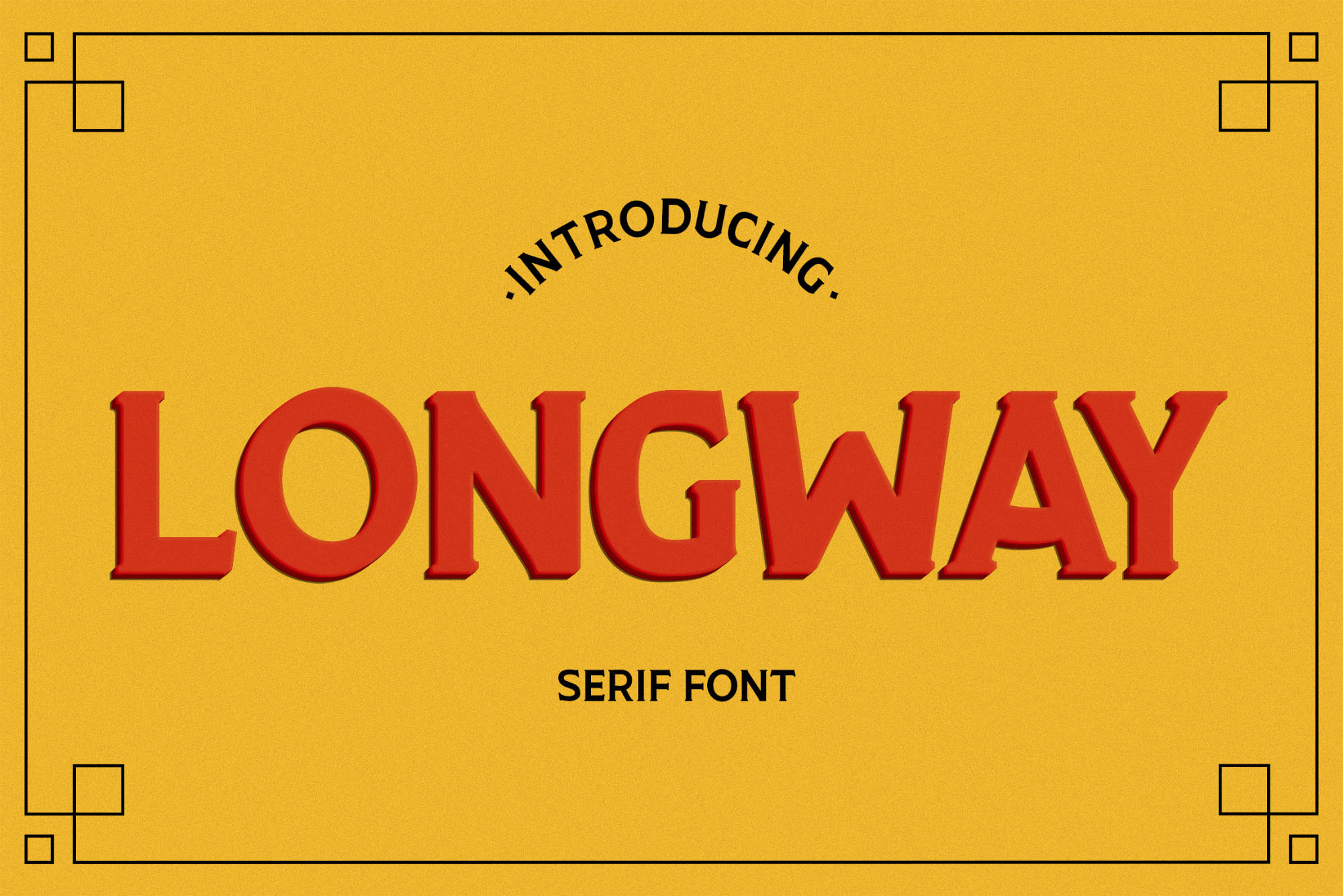 Longway Font