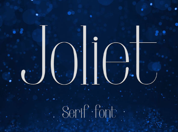 Joliet Serif Font