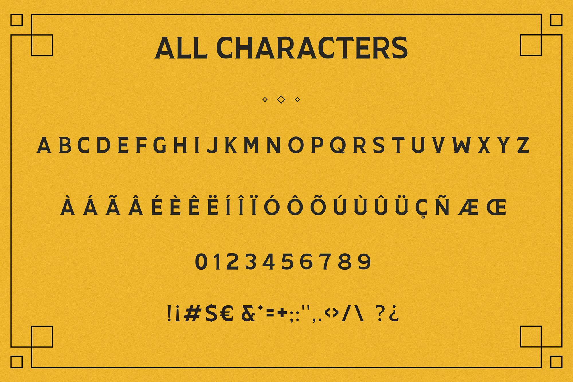 longway serif typeface
