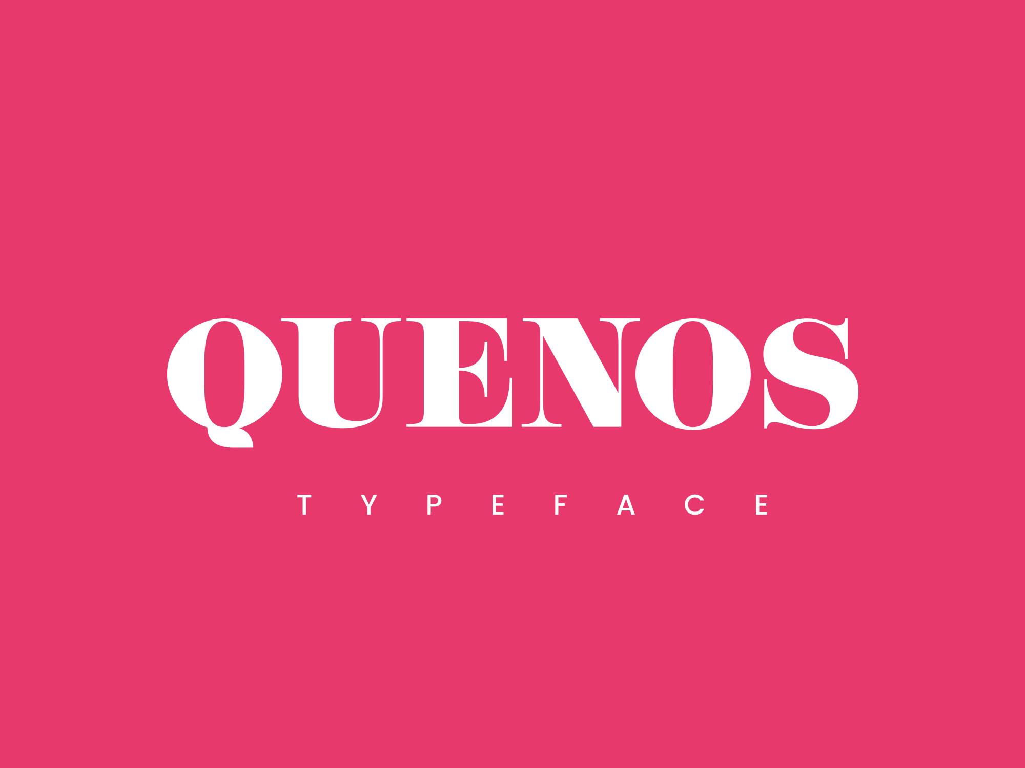 Quenos Typeface