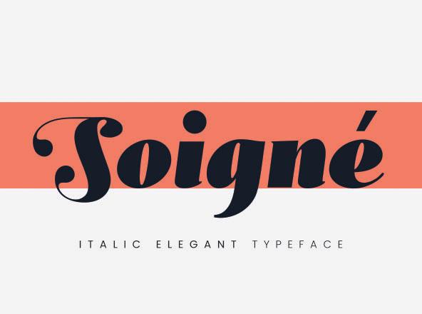 Soigné Font