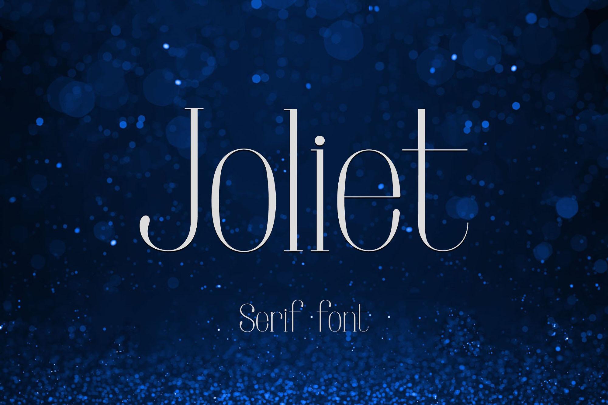 Joliet Serif Typeface