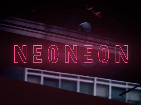 Neoneon font