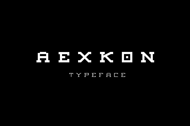AEXKON TYPEFACE