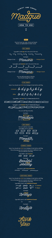 Madgue Font