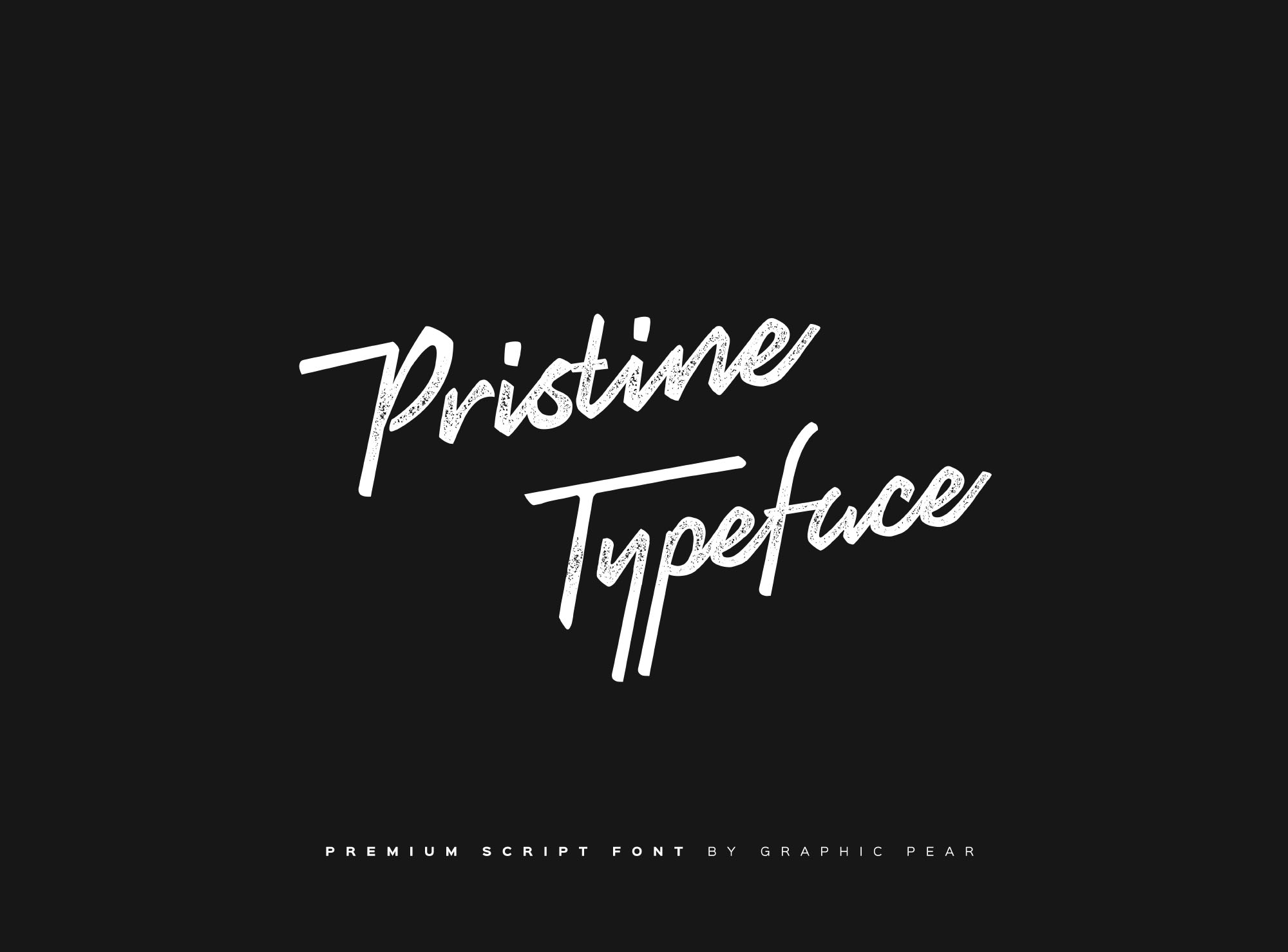 Шрифт – Pristine