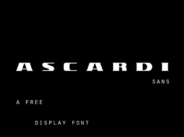 Ascardi Typeface