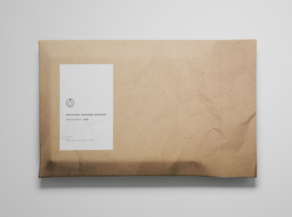 Envelope Package Mockup s