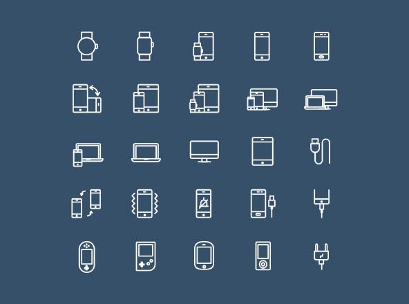 25 Device Icons