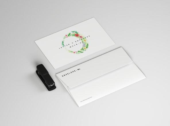 Envelope & Letter Mockup