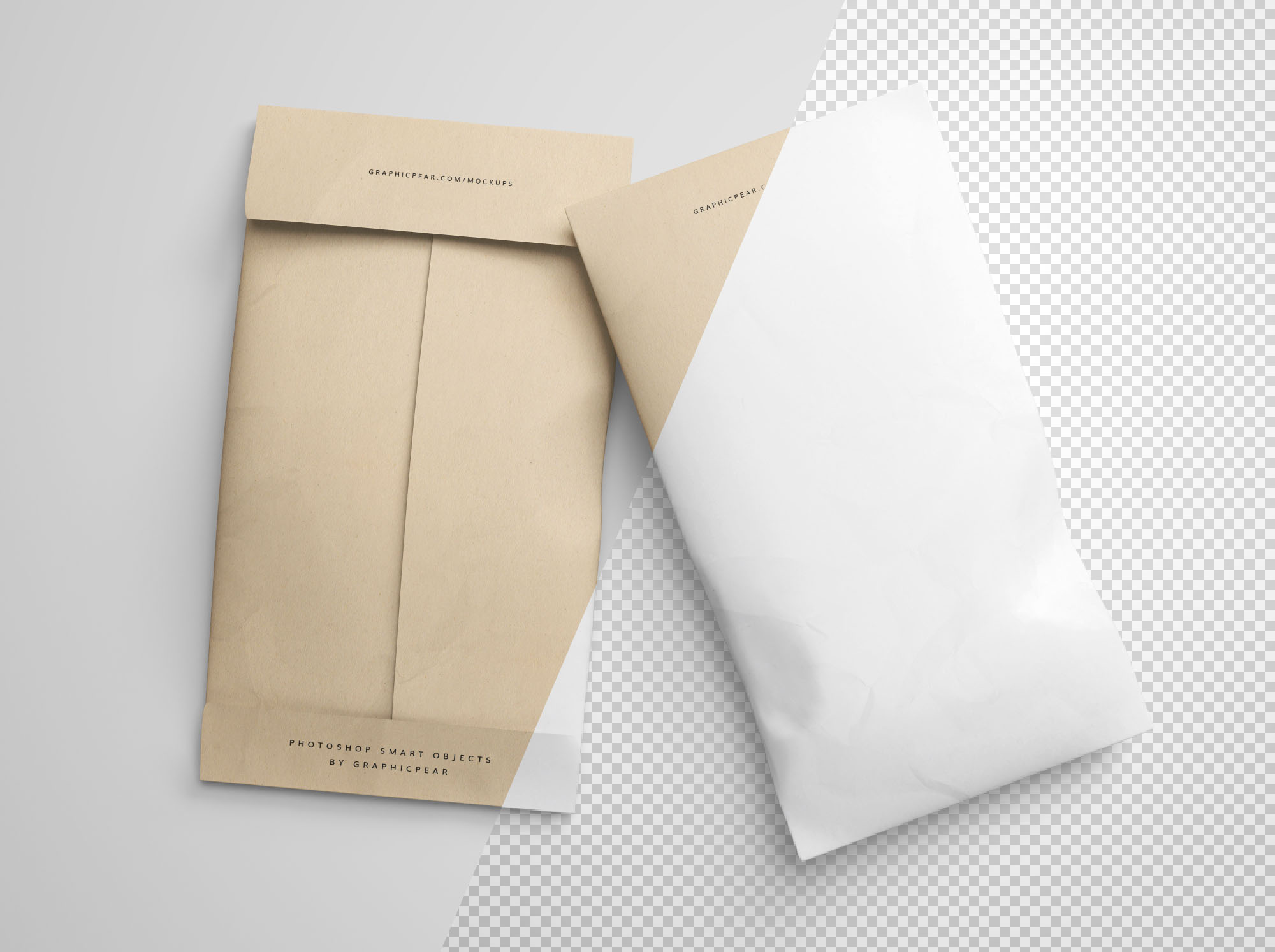Envelope Package Mockup