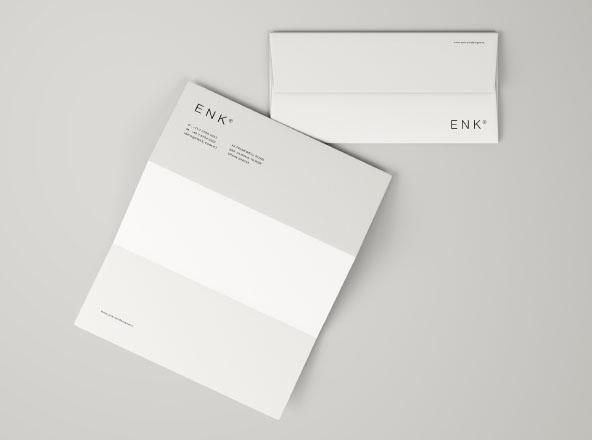Envelope and Letterhead Mockup