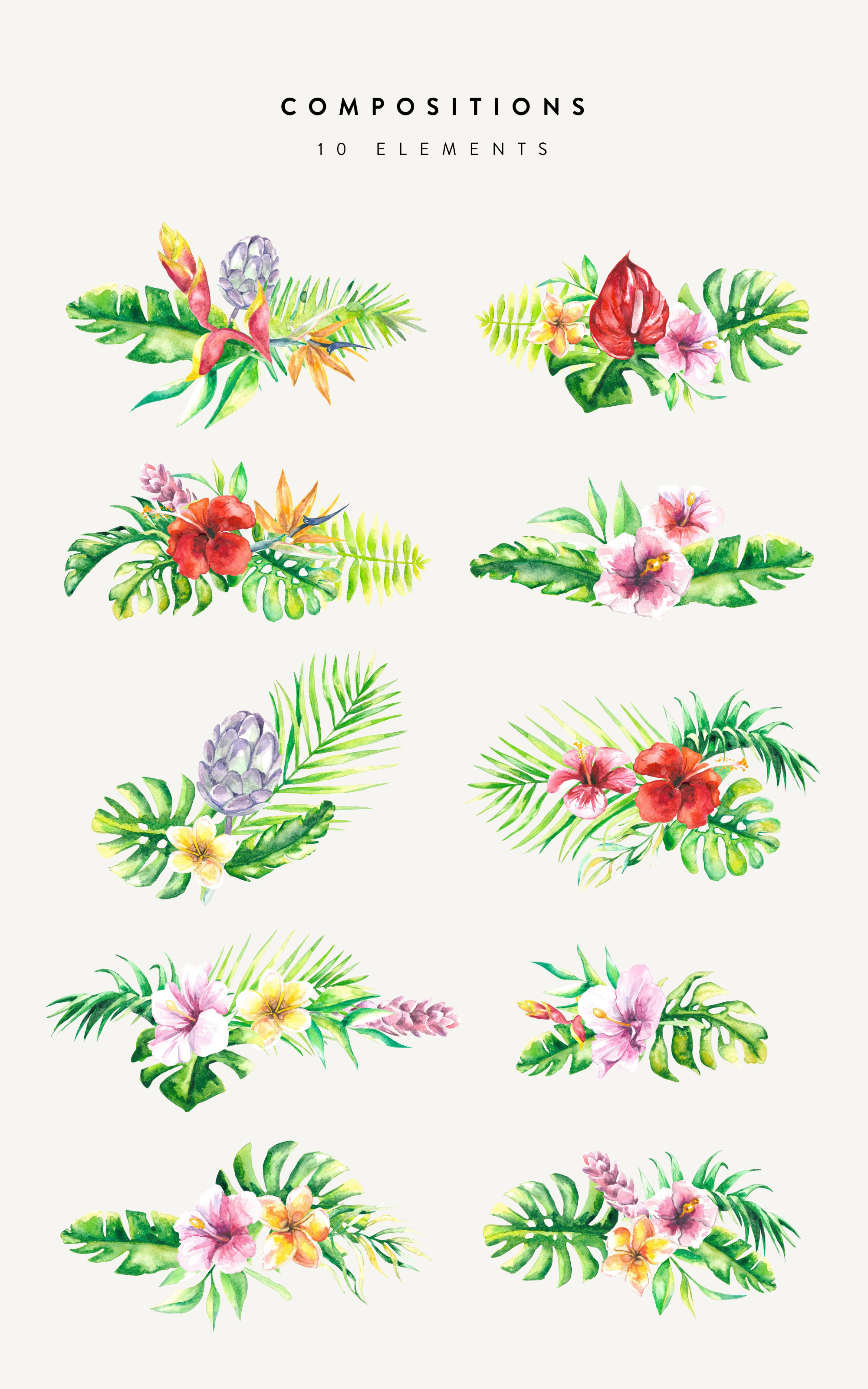 Floral Design Compositions