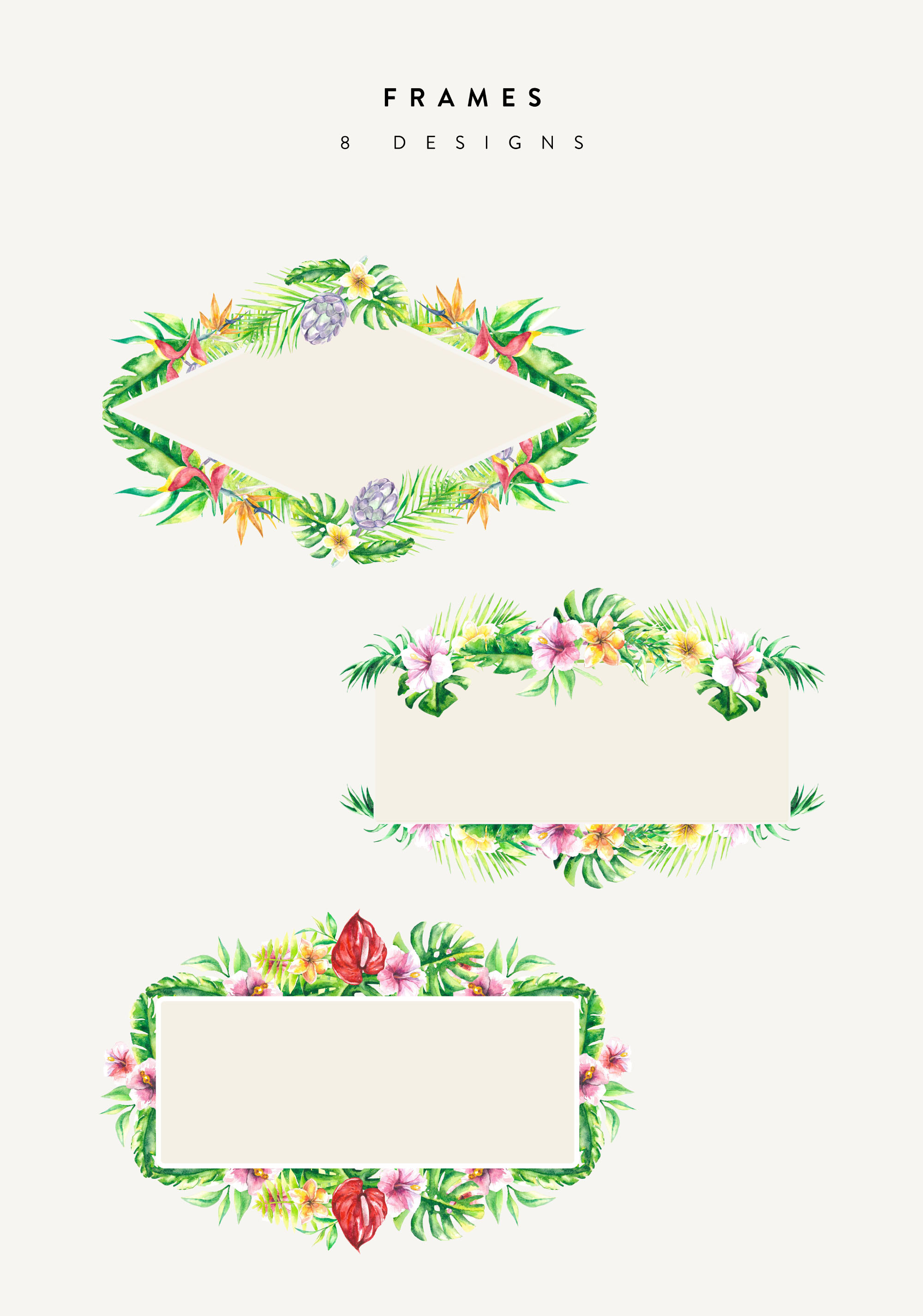 Floral Frame Designs