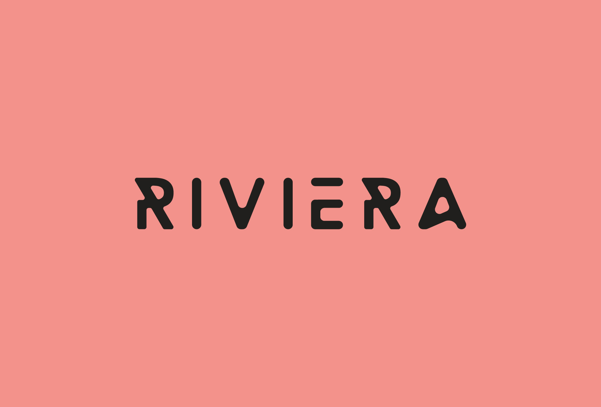 Riviera Display Uppercase Typeface