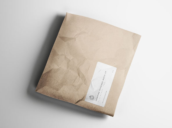 Shipping Package Mockup