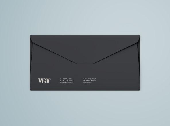 Side Seam Envelope Mockup ss