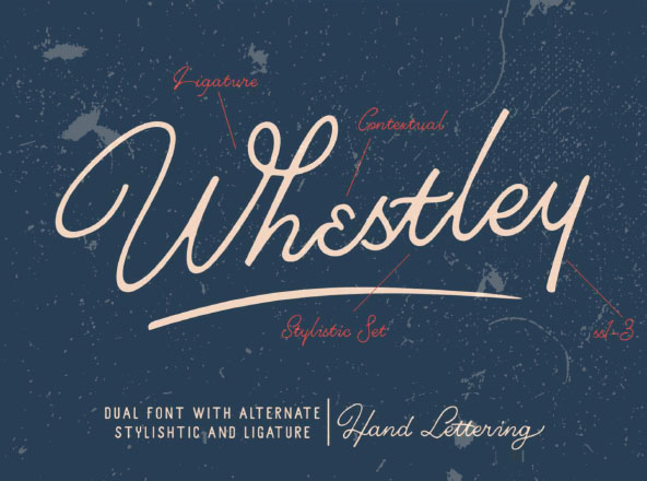 Whestley Typeface