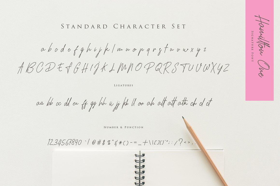 Hamillton Signature HandwritingTypeface