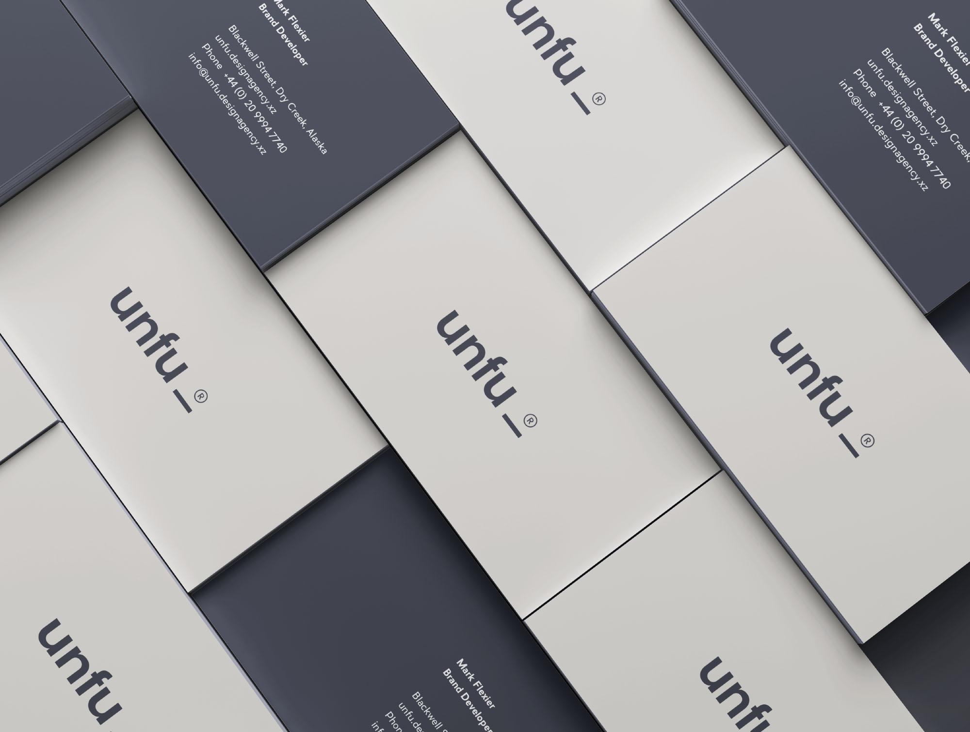 Branding Mockup - Business Cards