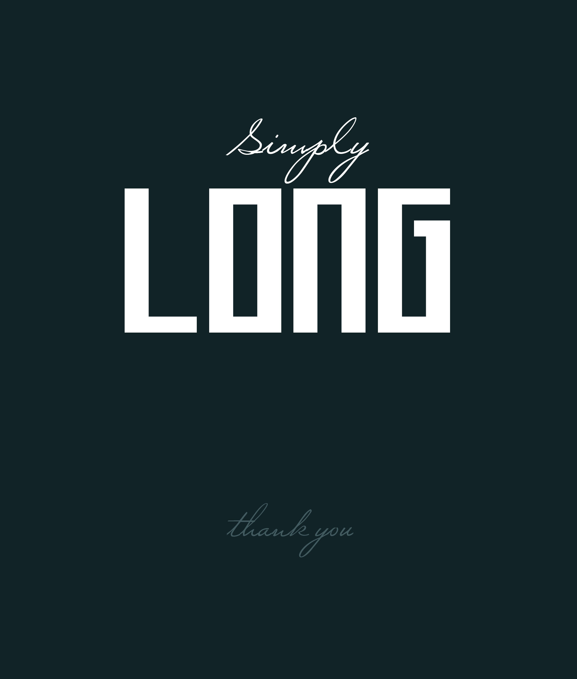 Long Johnson Font
