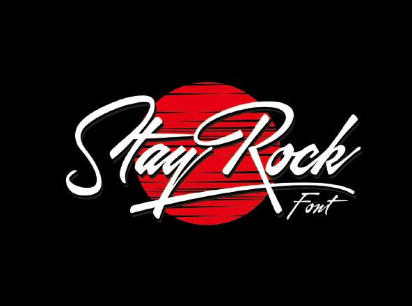 StayRock Script Font