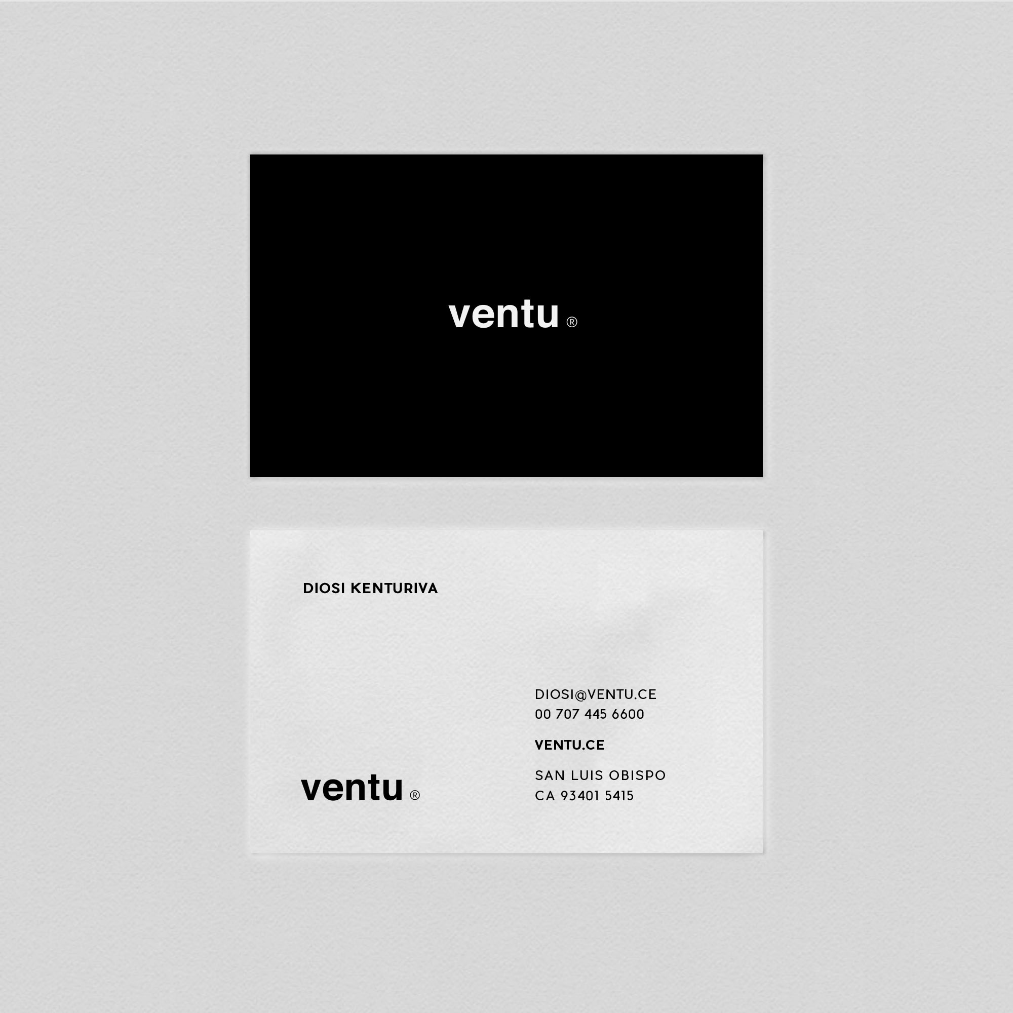 Business Card Template - Ventu