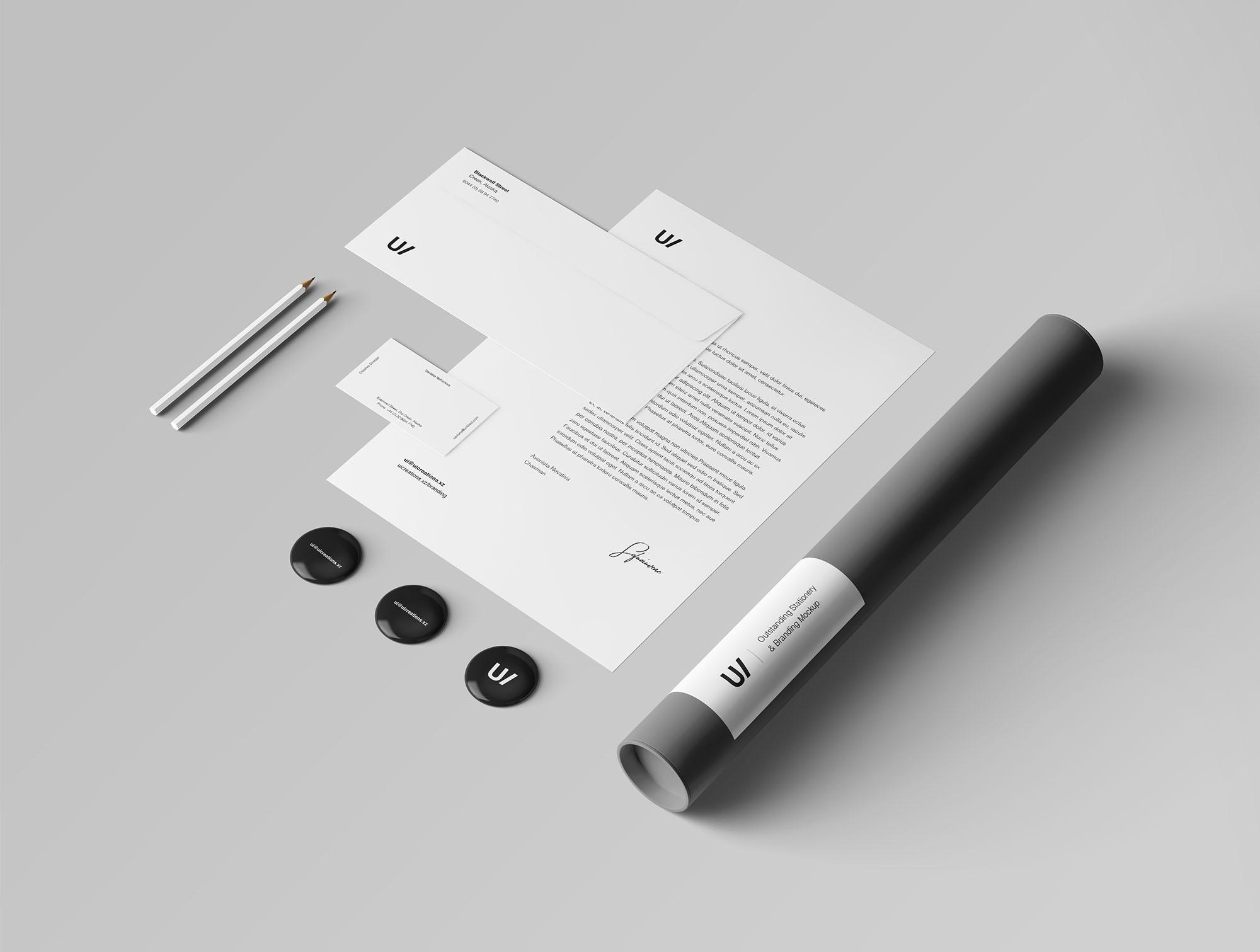Branding & Stationery Mockup