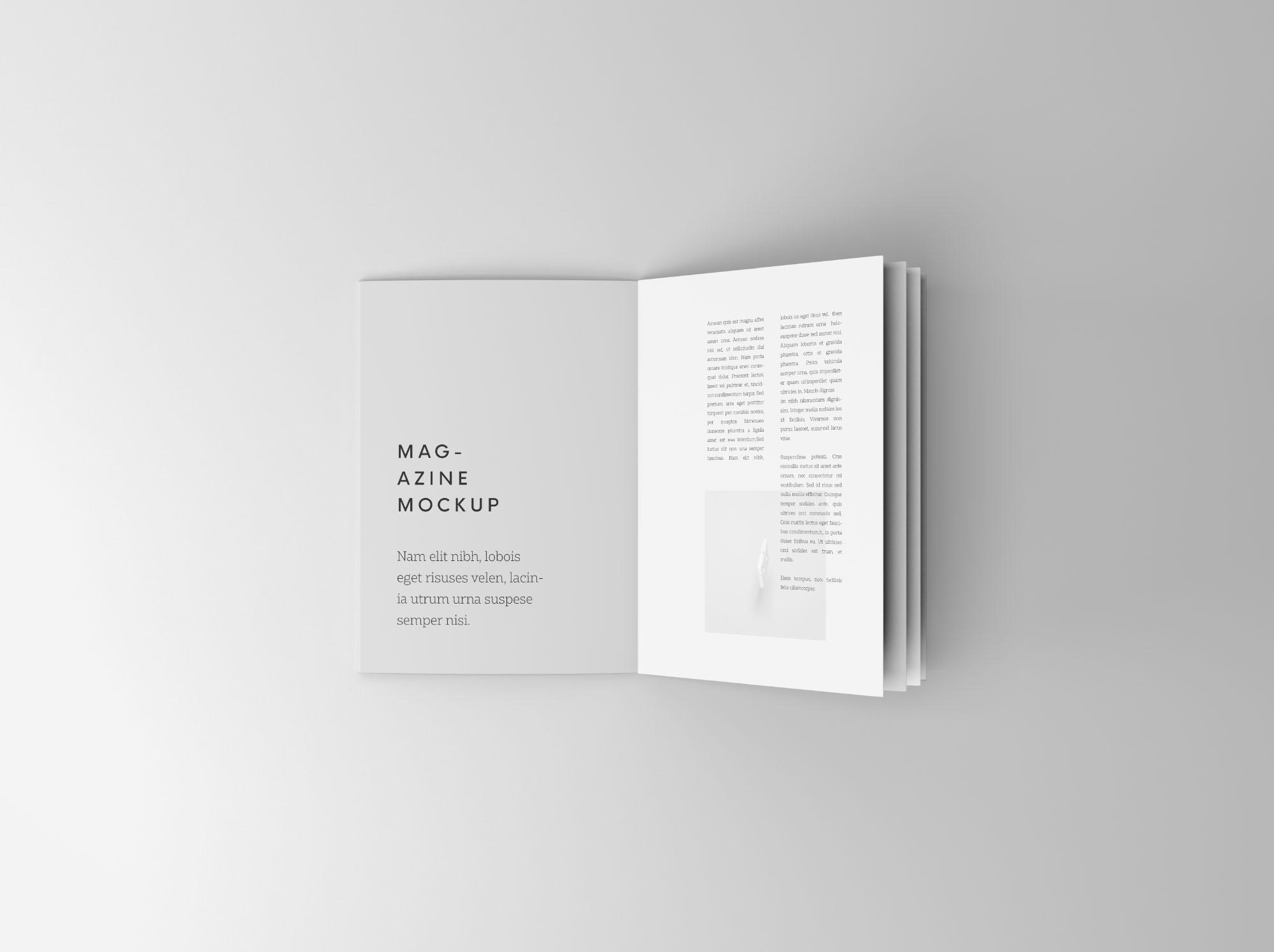 Booklet Mockup