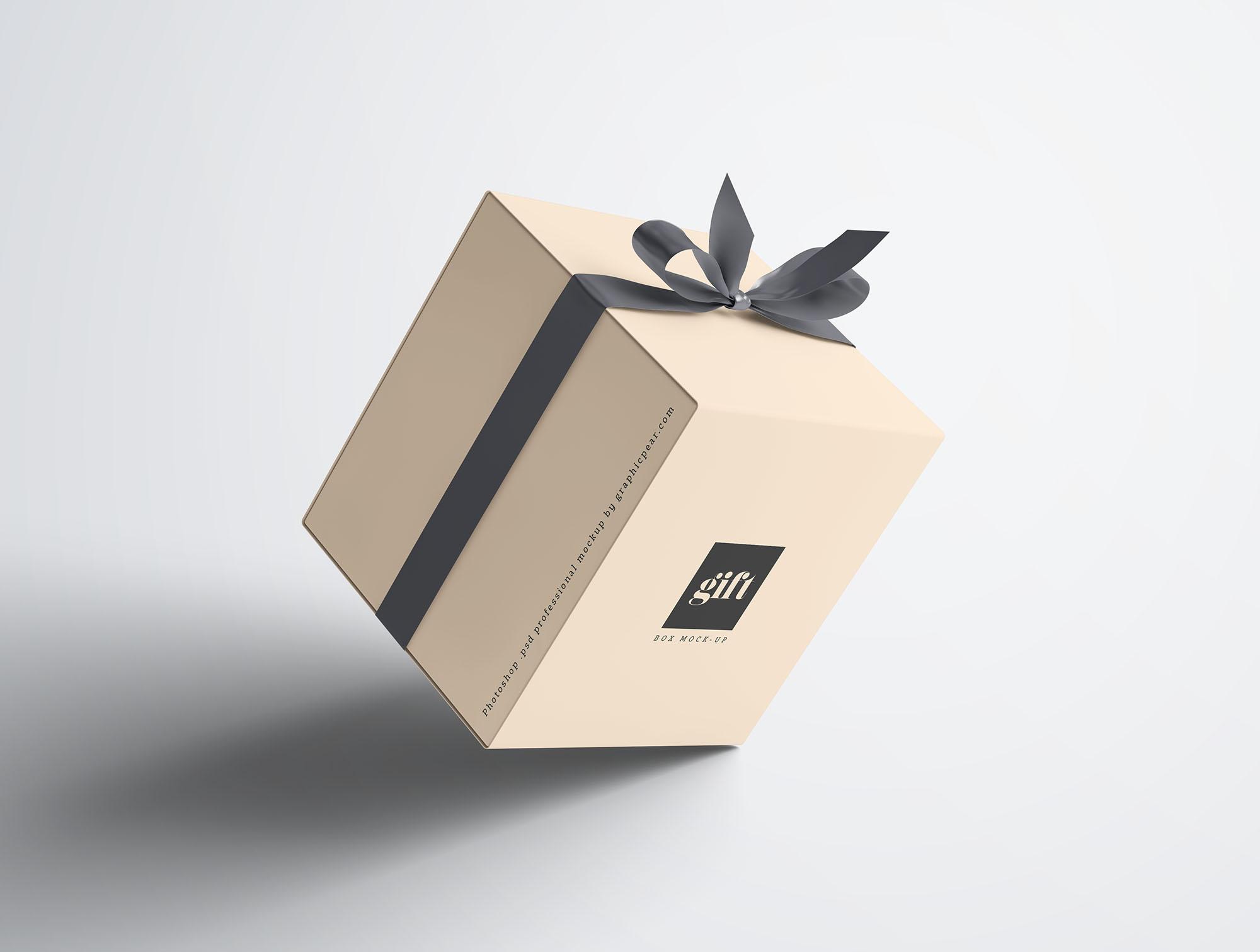 Gift Box Mockup 4