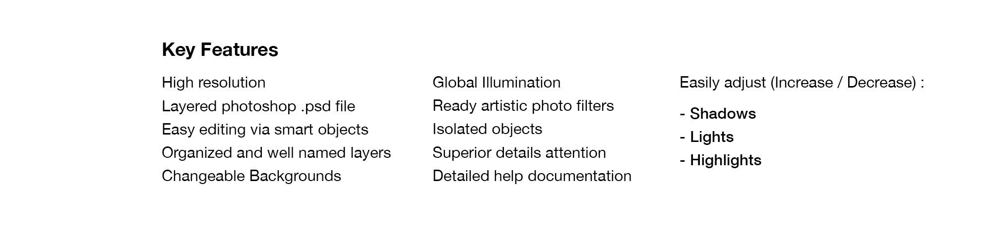 Bifold Brochure Mockup - Features