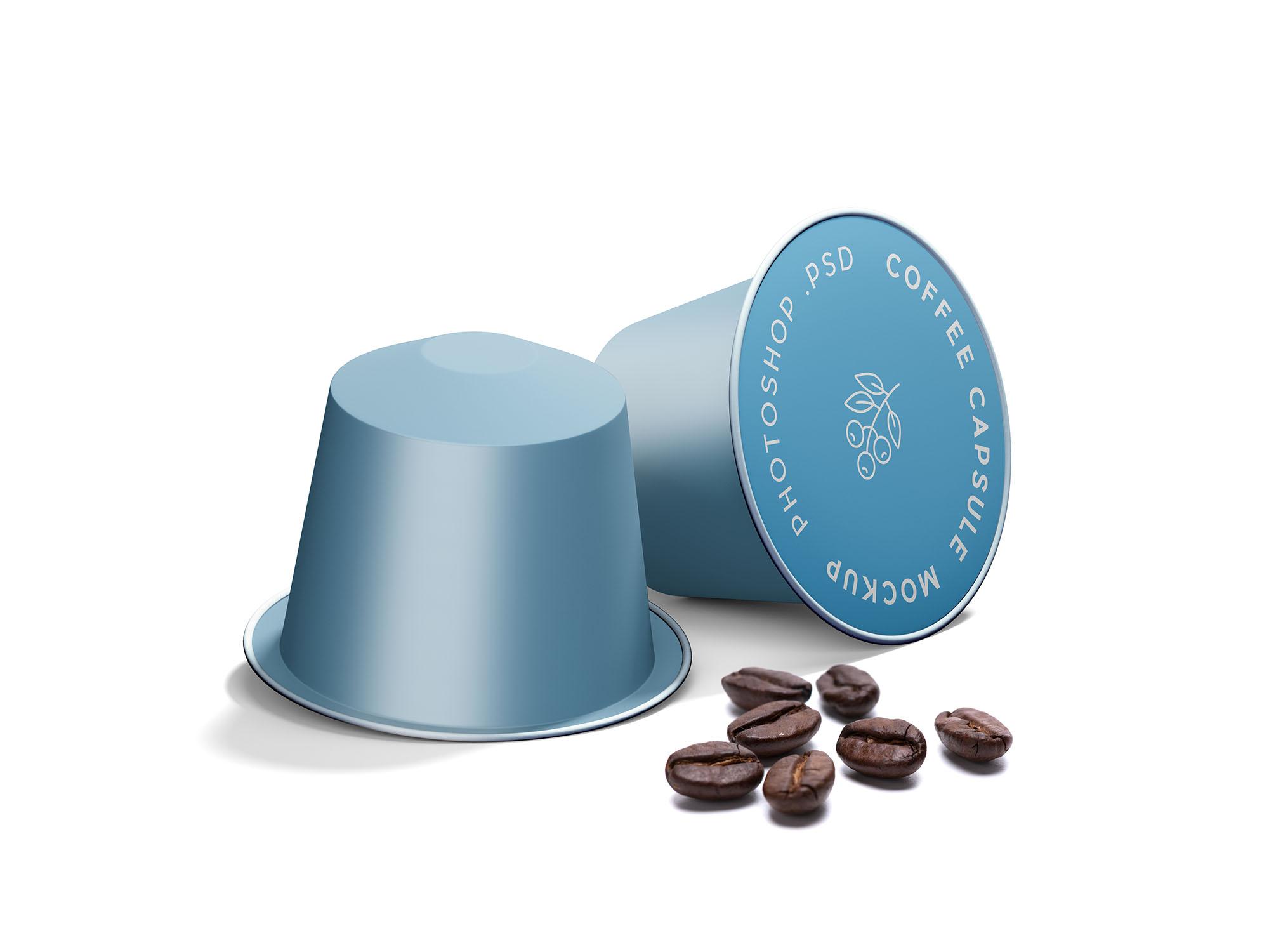 Coffee Capsule Mockup