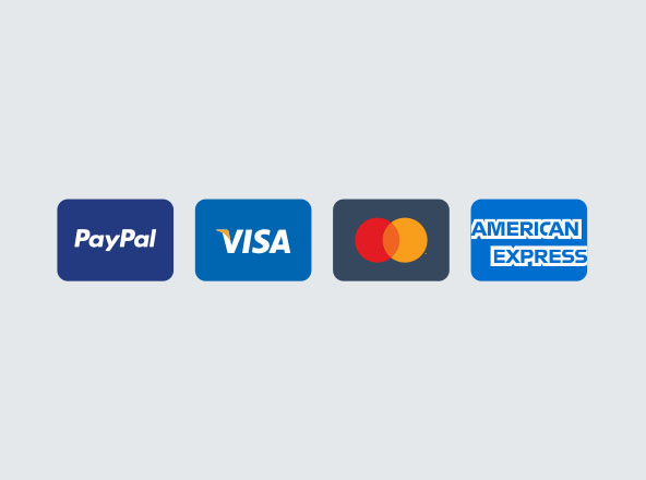 Minimal Payment Card Icons