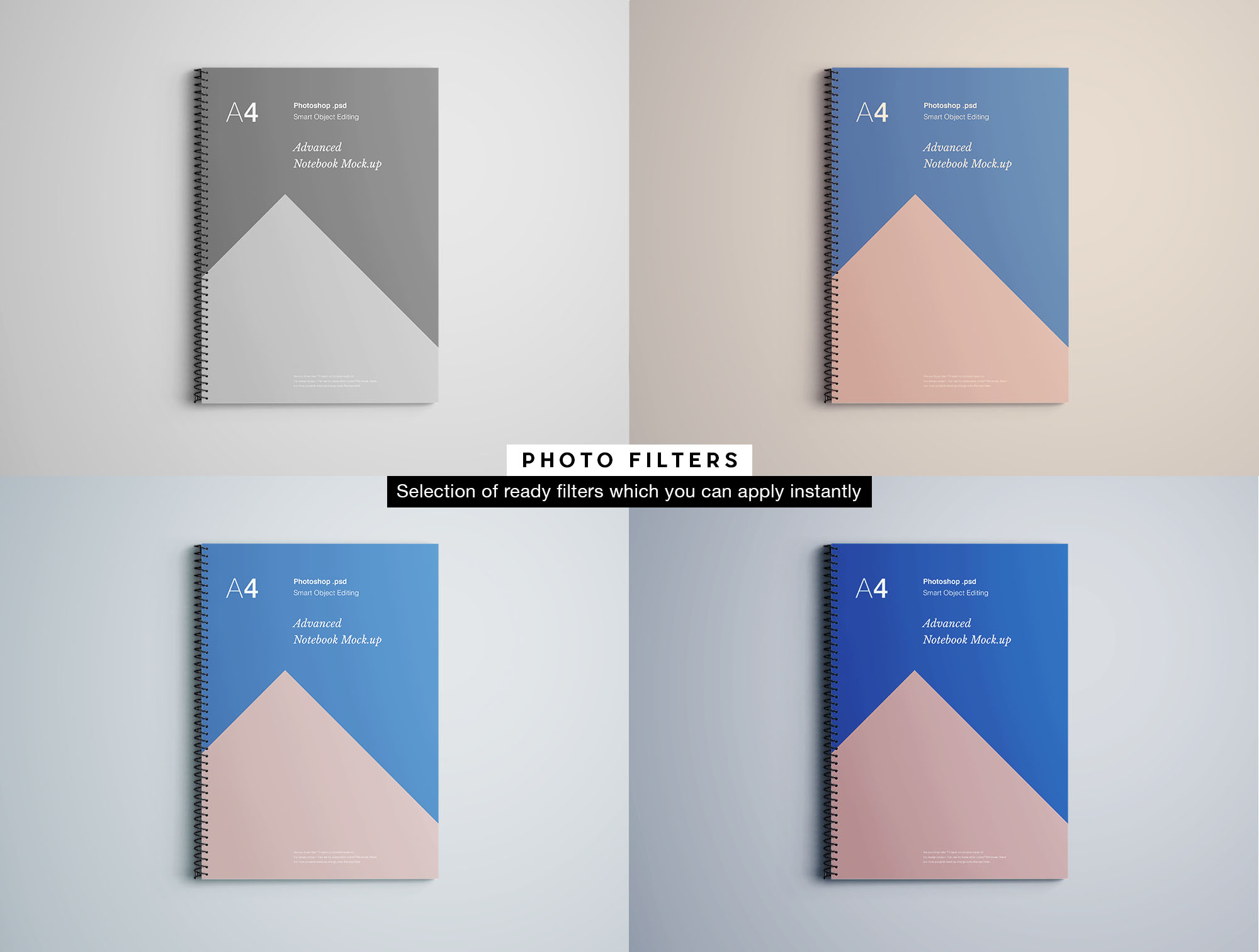 Notebook Mockup - Filters