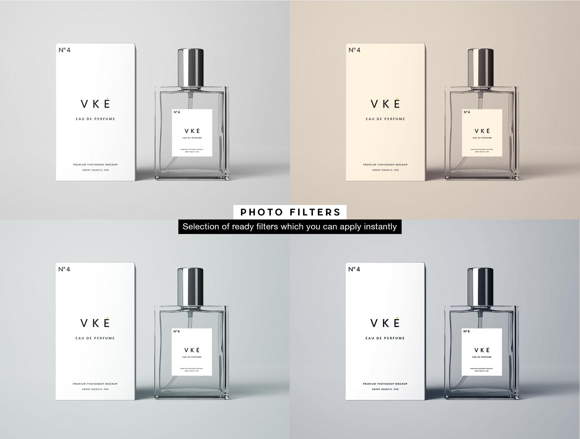 Perfume Mockup - Filters
