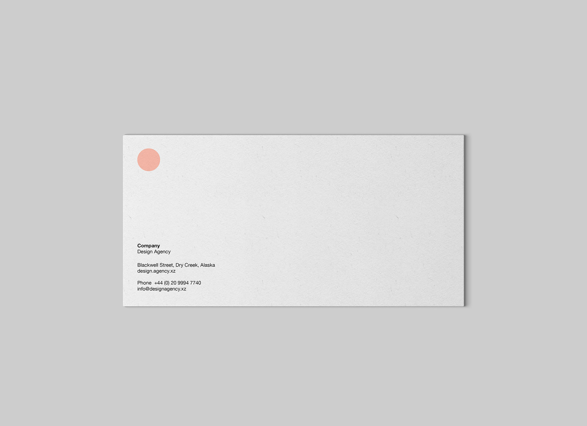 DL Envelope Mockup