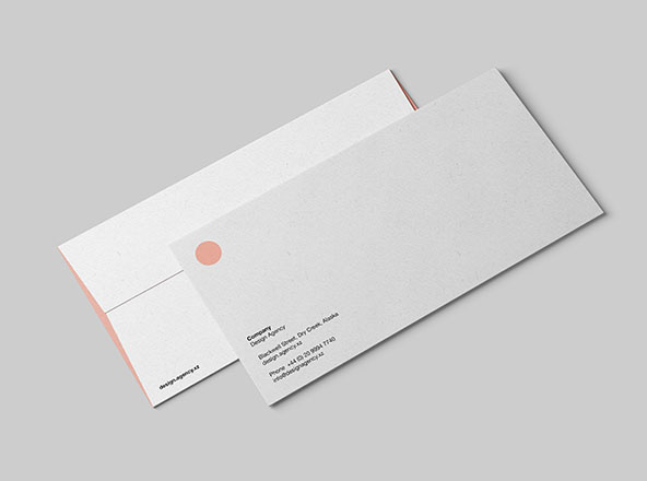 DL Envelope Mockup