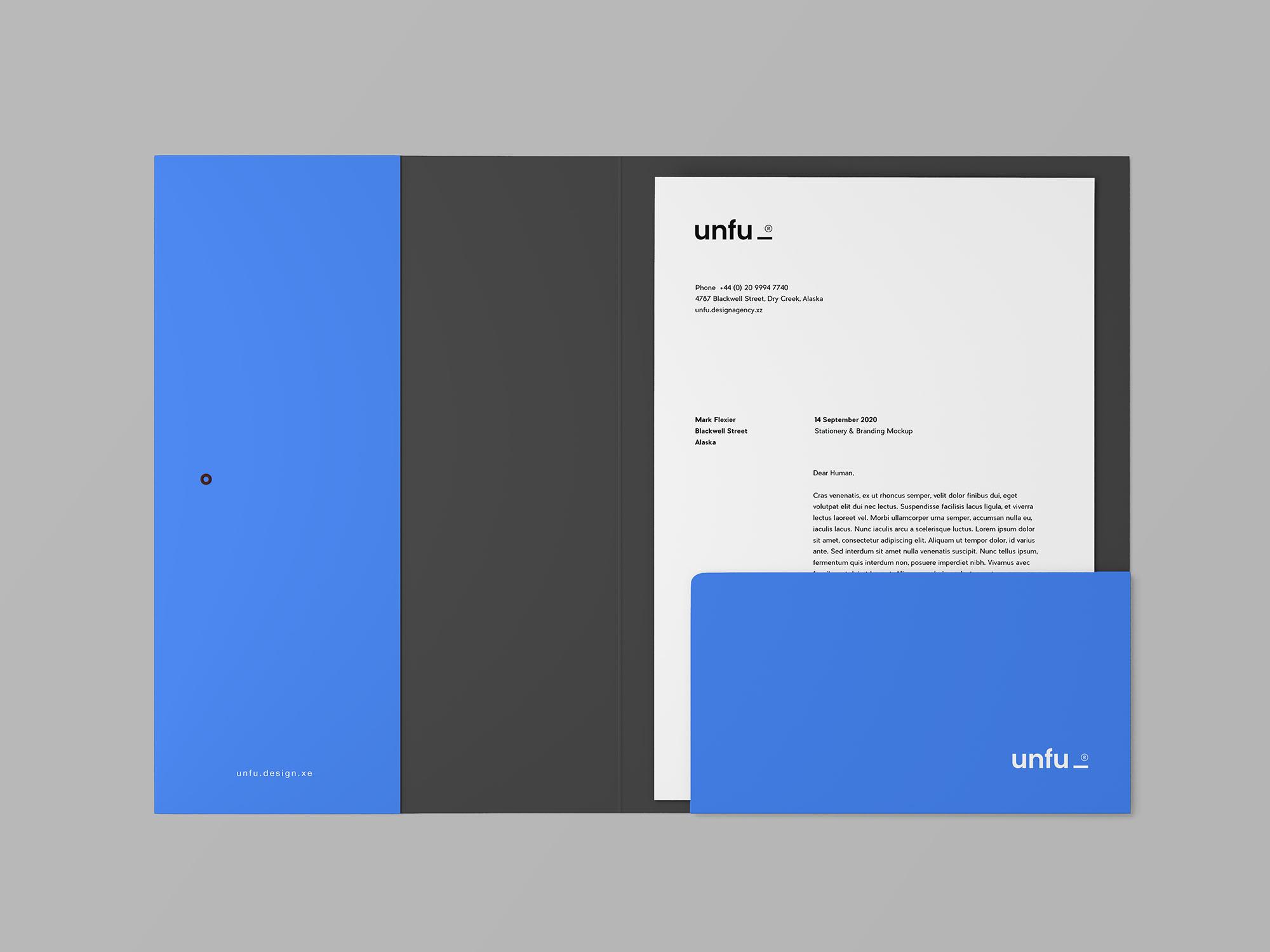 Branding Folder Mockup