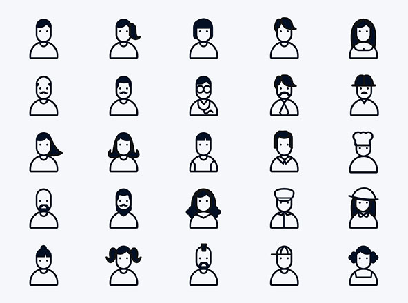 People and User Icons