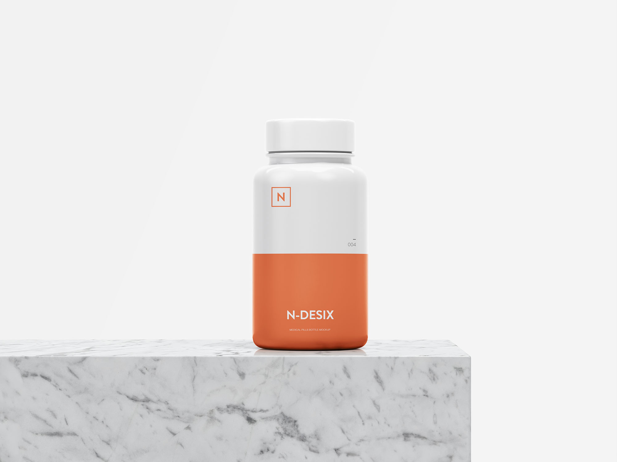 Pills Bottle Mockup