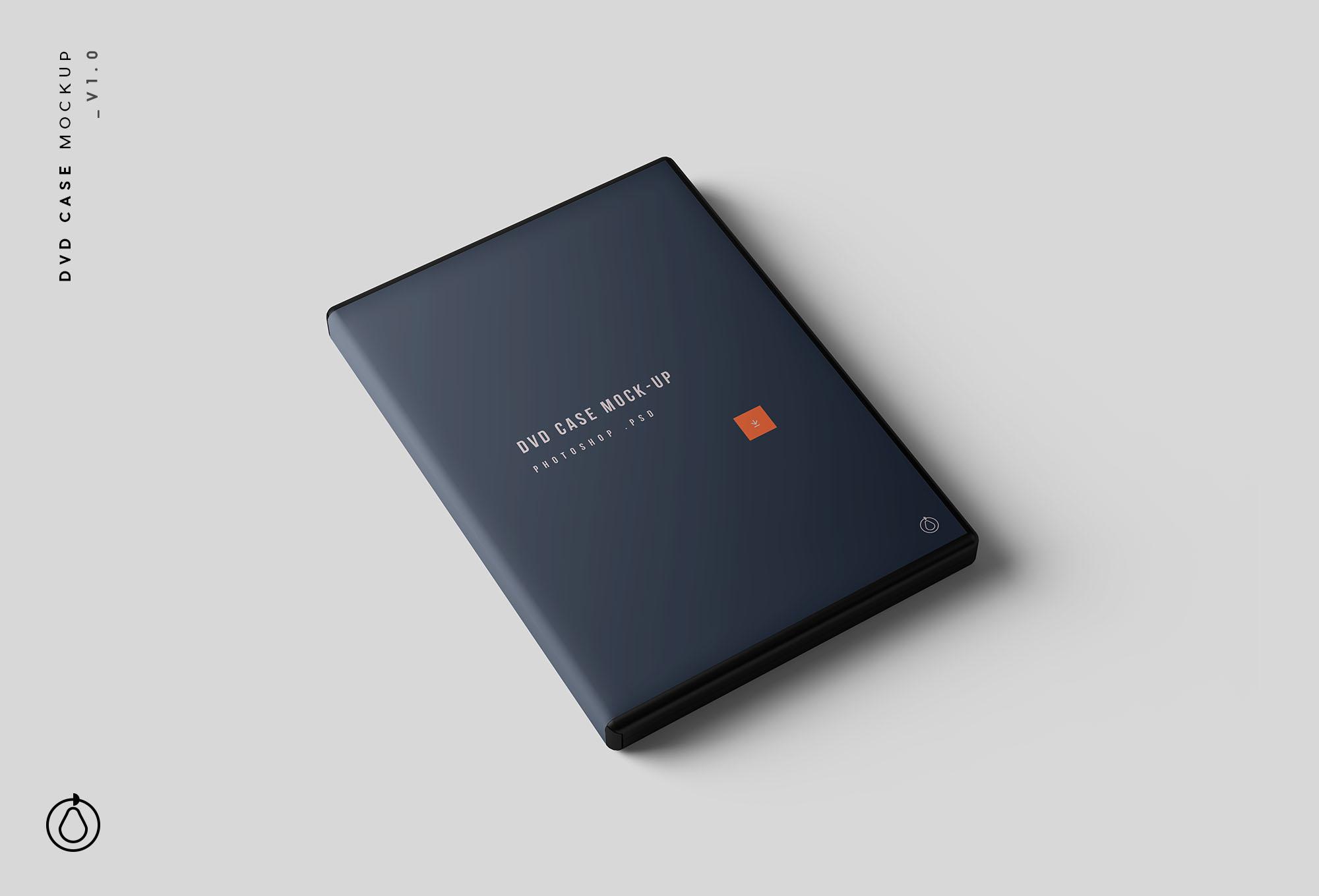 DVD Case Mockup PSD