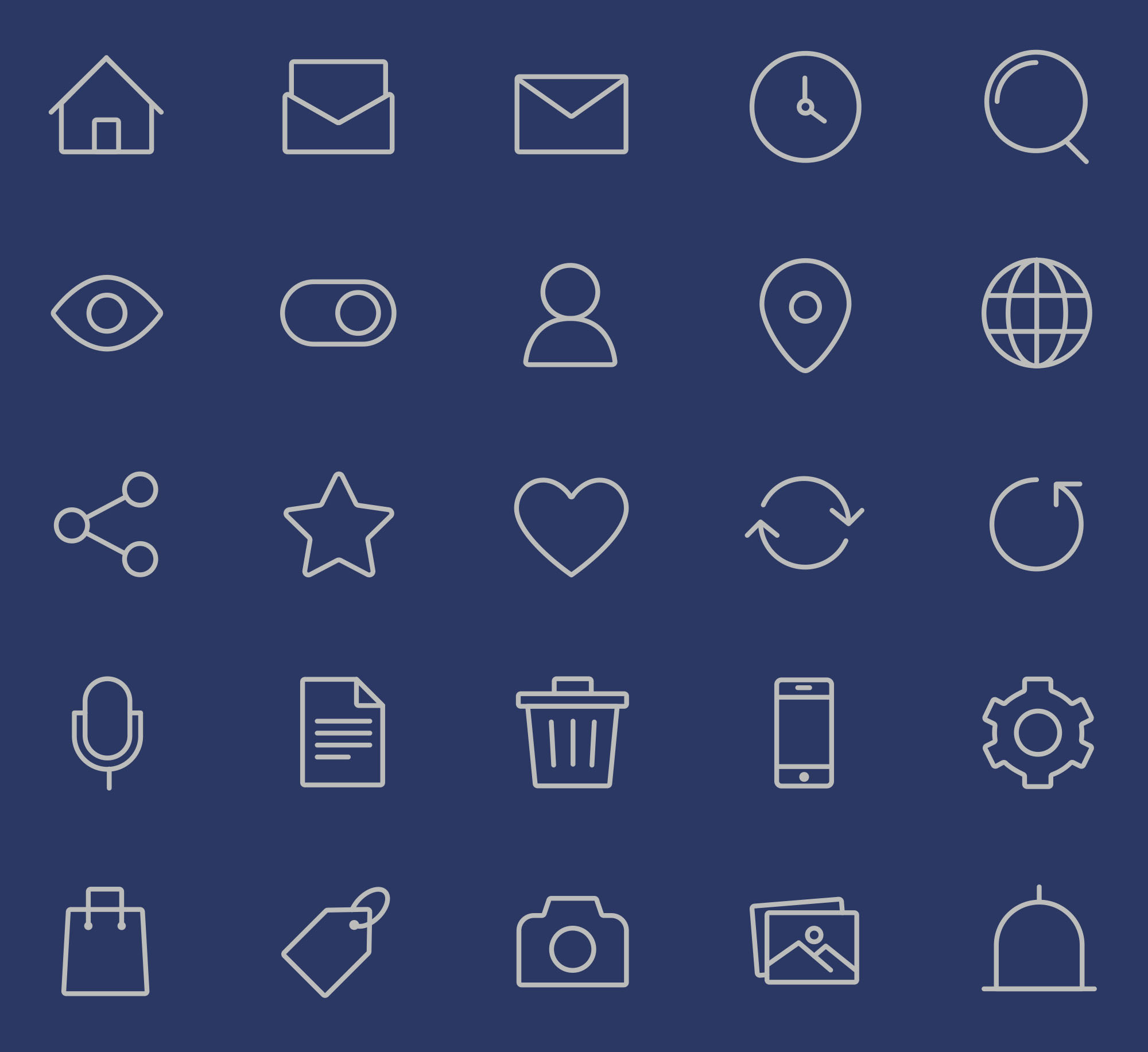 Interface Icons Part 1