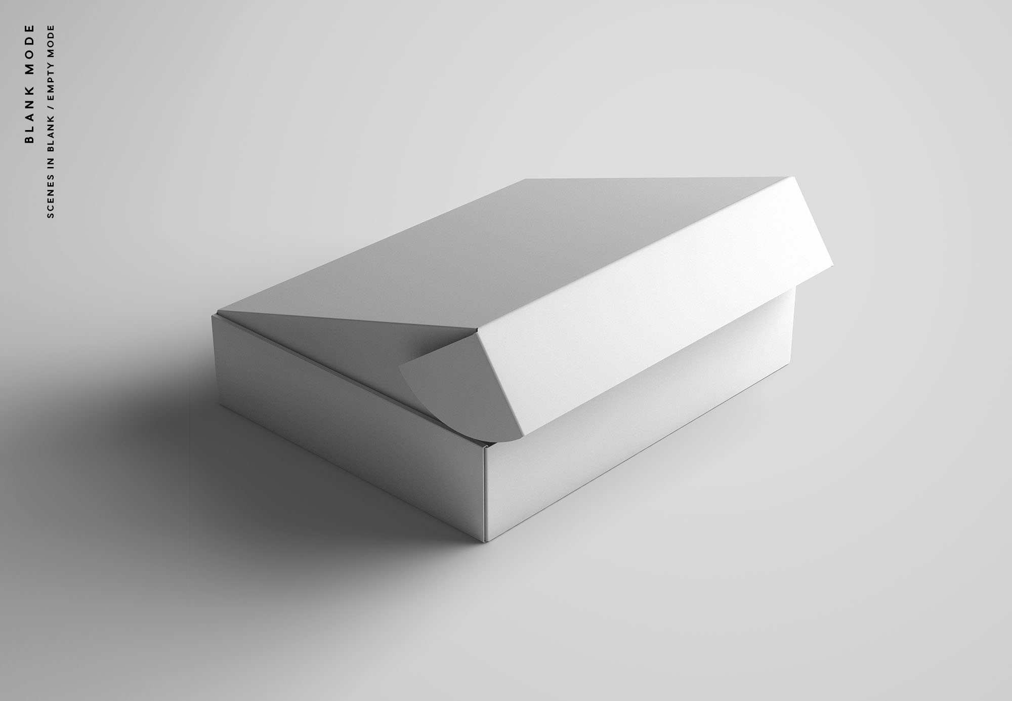 Package Box Package Mockup - Blank Mode