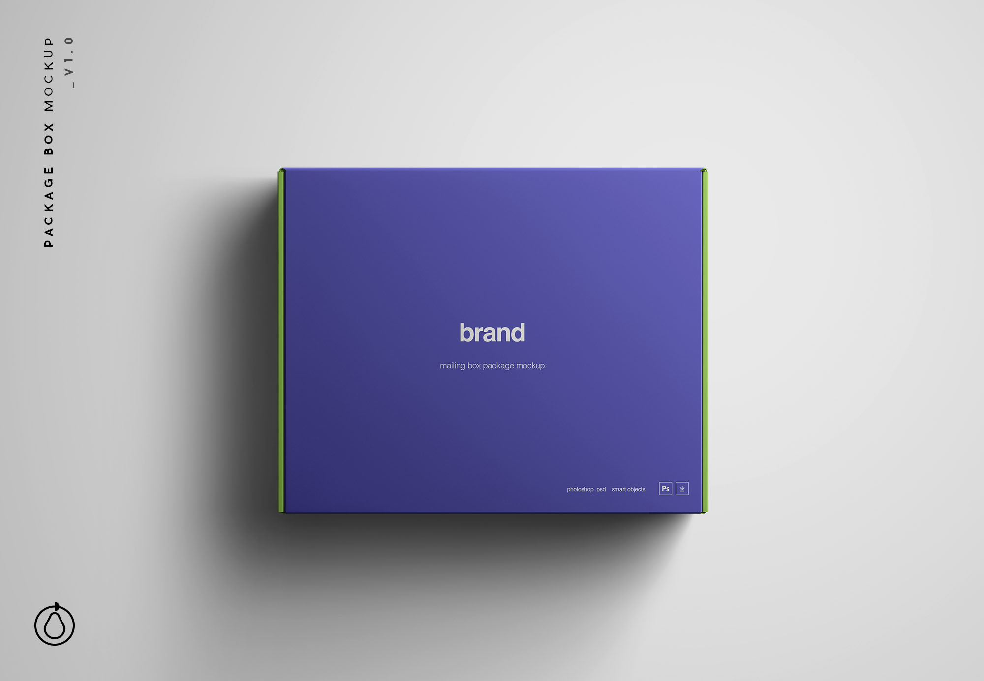 Package Box Package Mockup PSD