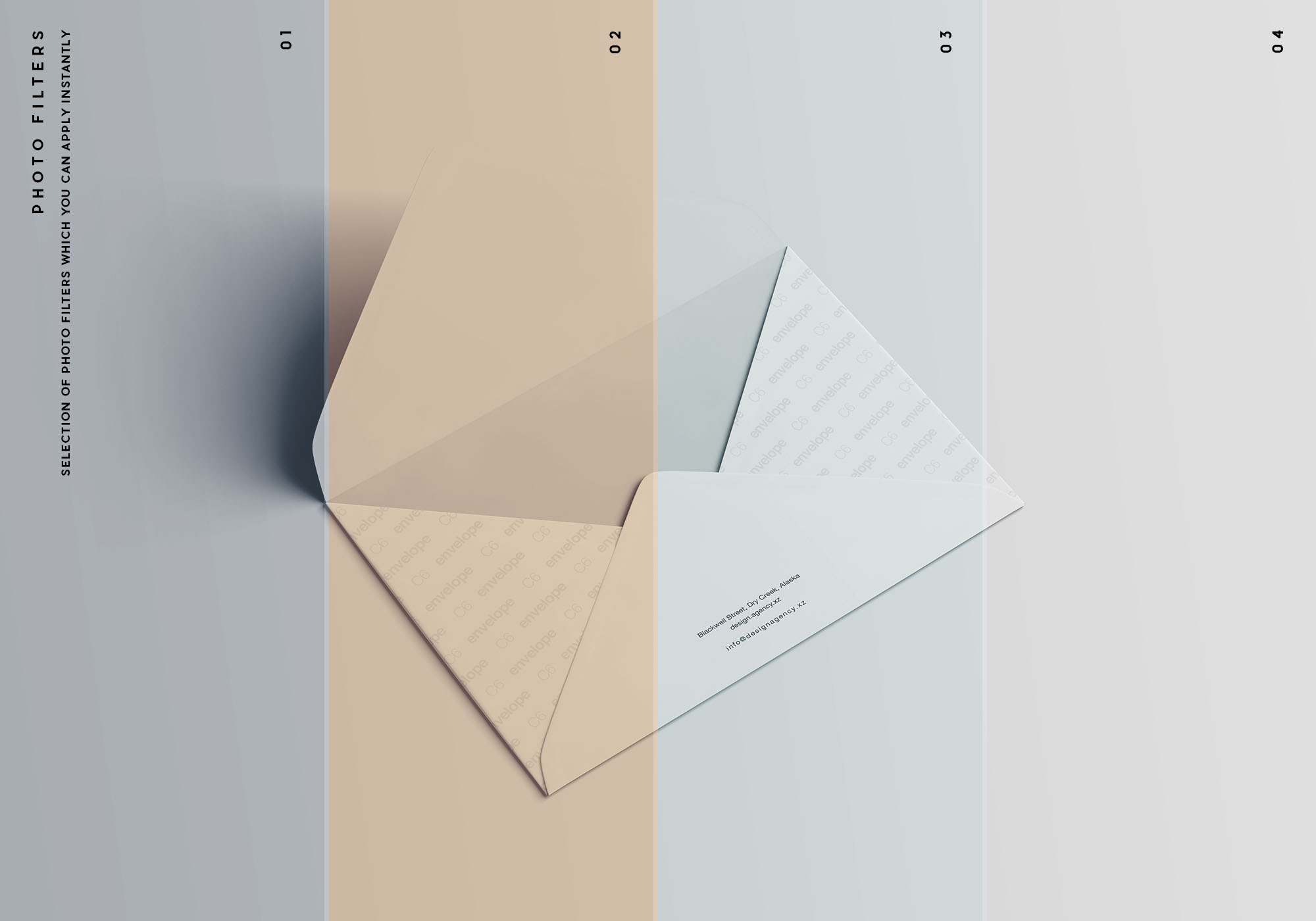 C6 Envelope Mockup - Blank Mode