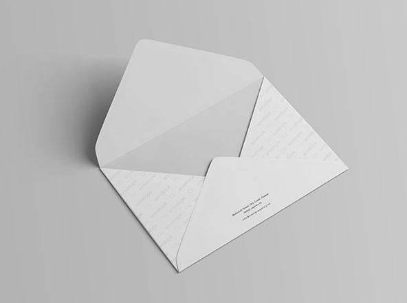 C6 Envelope Mockup Photoshop