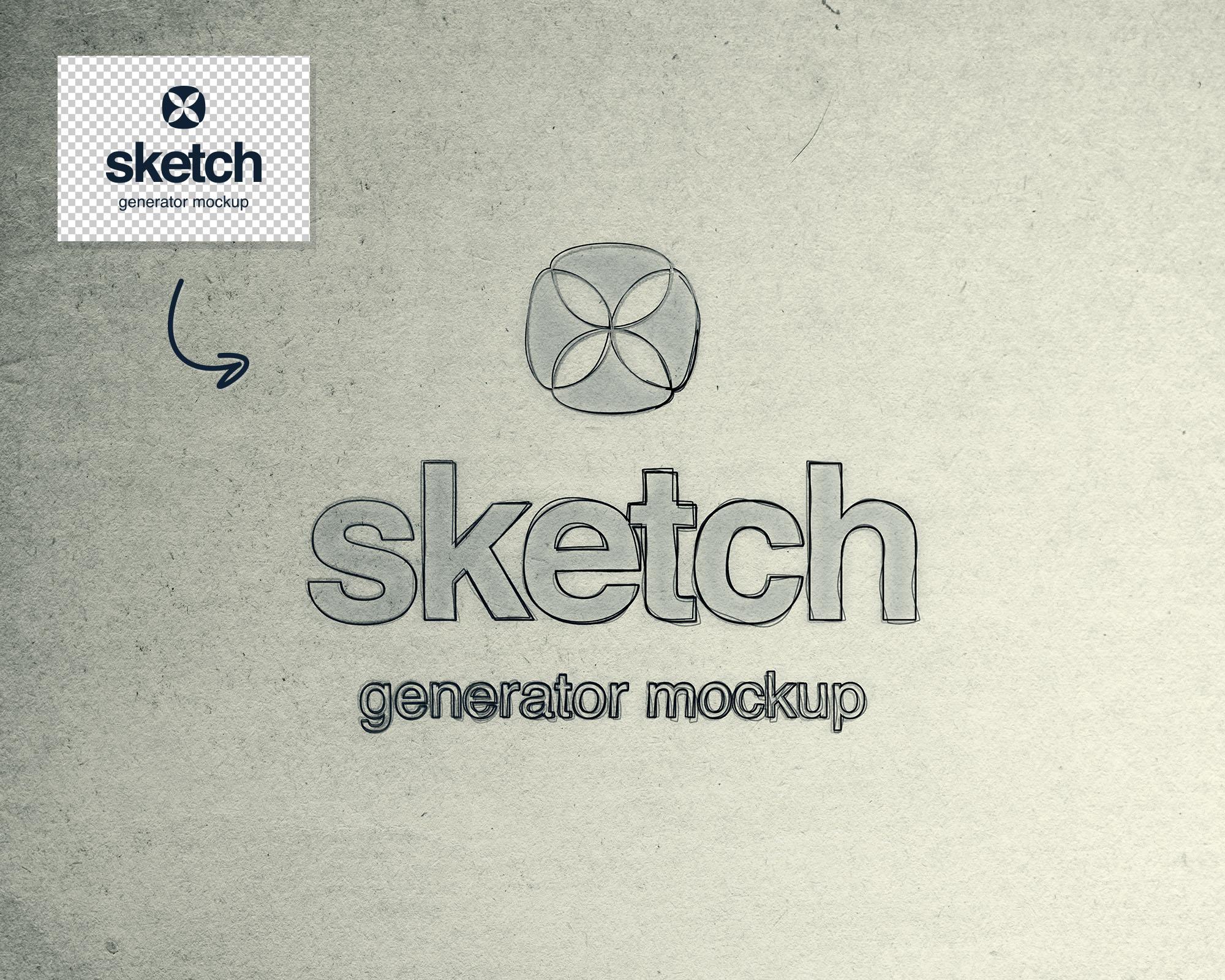Sketch Generator Mockup