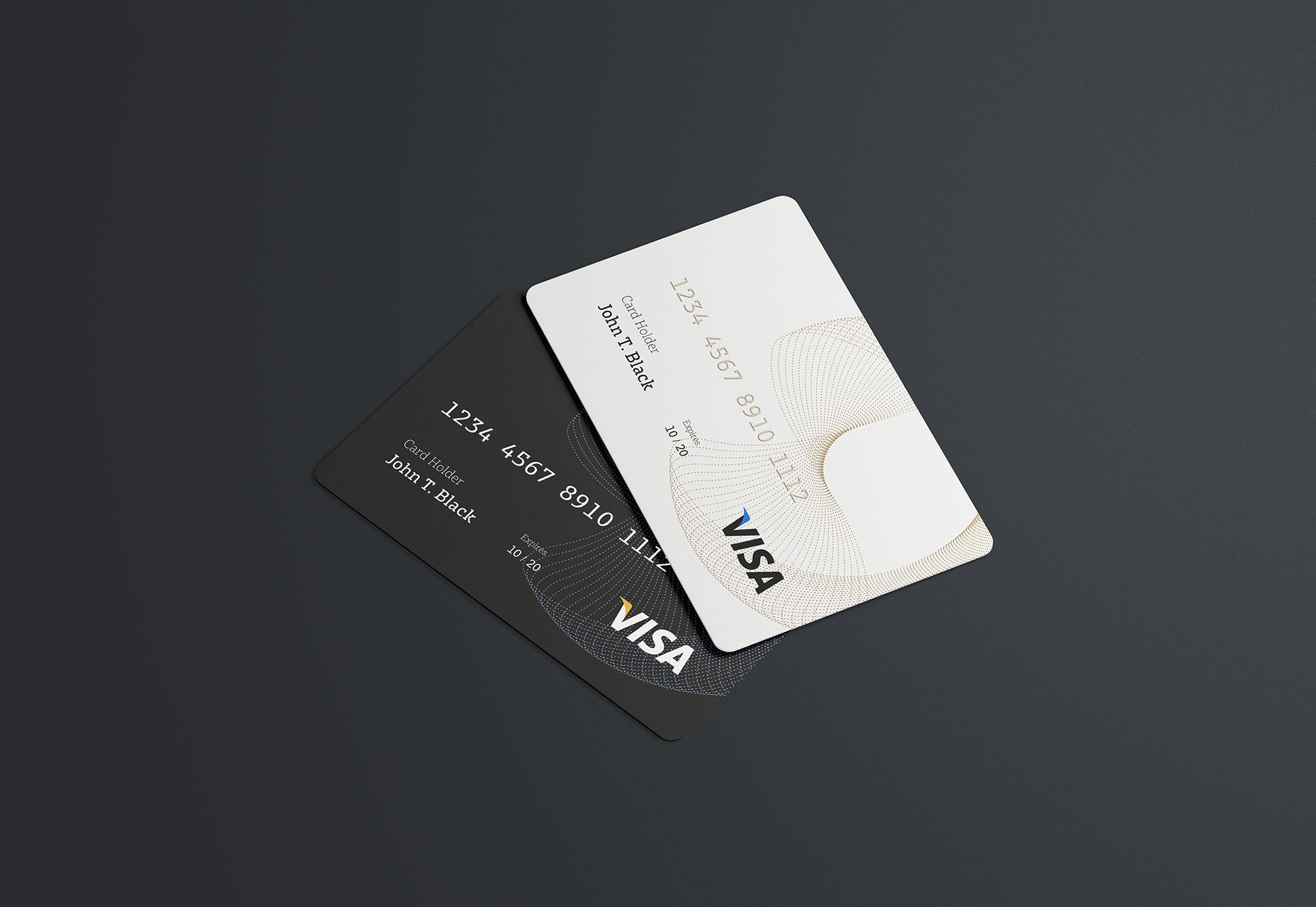 Psd Credit Card Mockup