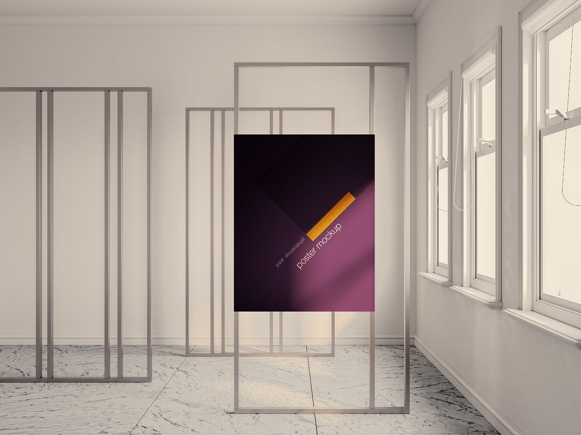 Exhibition Poster Mockup