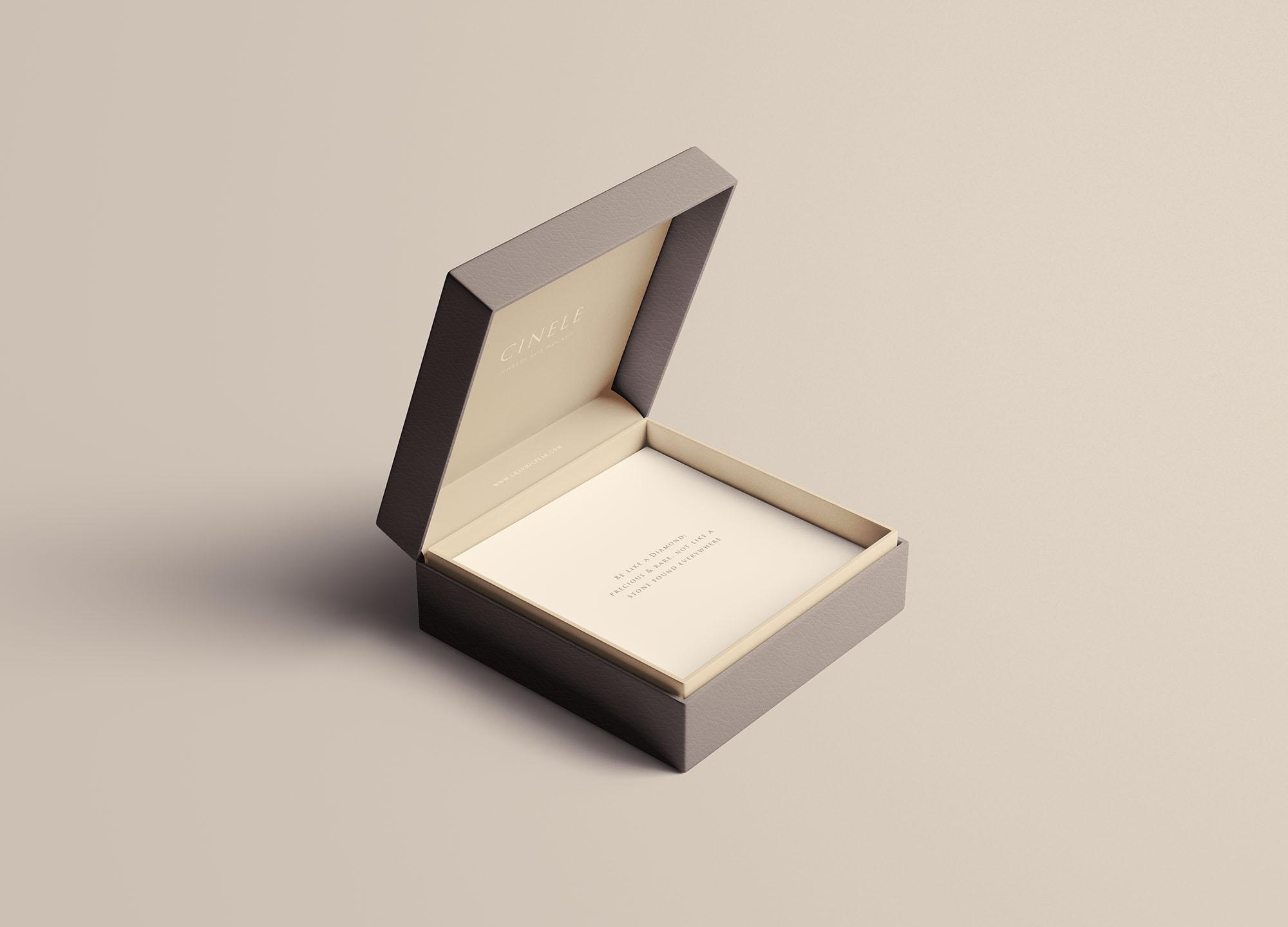 Jewelry Box Mockup
